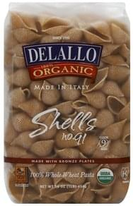 Delallo Shells 100% Whole Wheat, No. 91