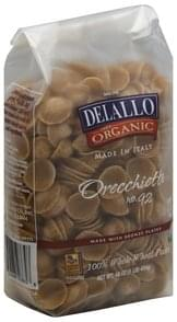 DeLallo Pasta Whole Wheat, Orecchiette No. 92