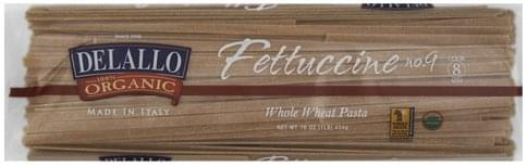 DeLallo Whole Wheat, Fettuccine No. 9 Pasta - 16 oz