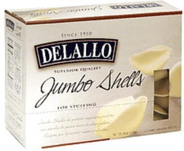 Delallo Jumbo Shells for Stuffing