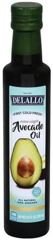 Delallo Extra Virgin Avocado Oil - 8.5 oz