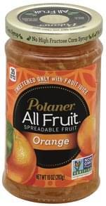 Polaner Spreadable Fruit Orange