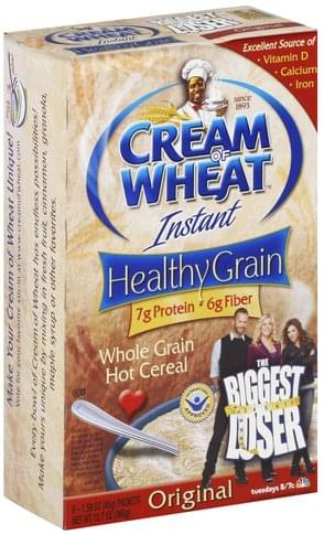 Cream Of Wheat Instant, Whole Grain Hot Cereal - 8 ea