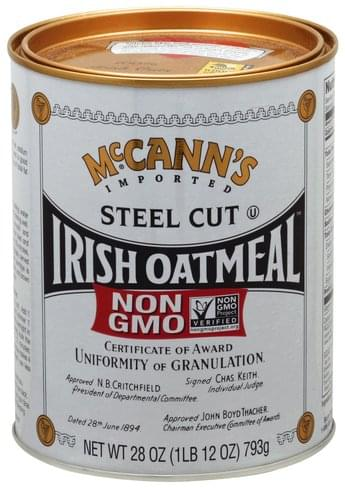 McCanns Irish, Steel Cut Oatmeal - 28 oz