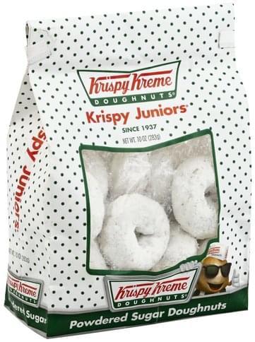 Krispy Kreme Powdered Sugar Doughnuts - 10 oz, Nutrition