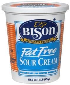 Bison Sour Cream Fat Free