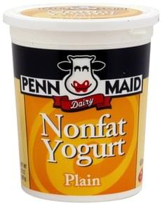 Penn Maid Nonfat Yogurt Plain