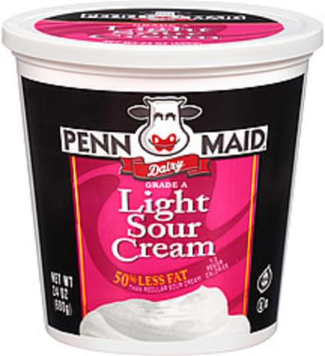 Penn Maid Light Sour Cream - 24 oz