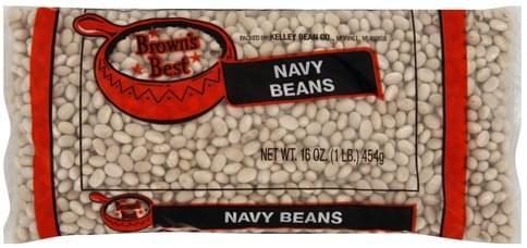 Browns Best Navy Beans - 16 oz