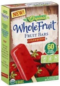 Whole Fruit Fruit Bars Strawberry