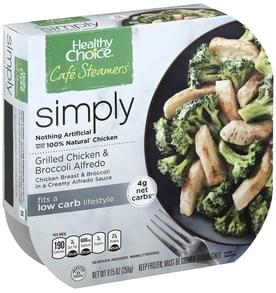 Healthy Choice Grilled Chicken & Broccoli Alfredo