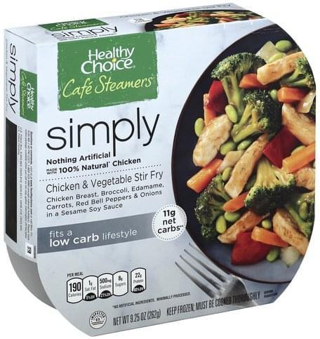 Healthy Choice Chicken & Vegetable Stir Fry - 9.25 oz