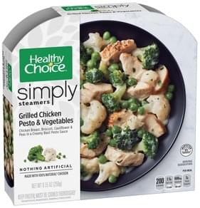 Healthy Choice Grilled Chicken Pesto & Vegetables