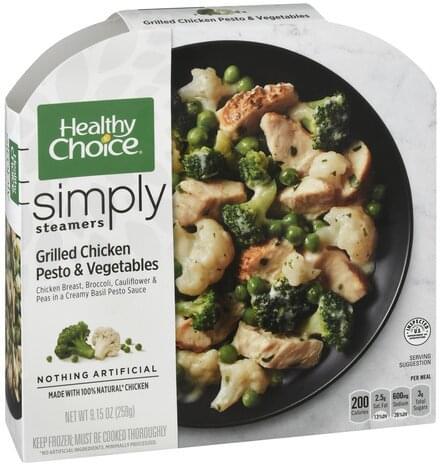 Healthy Choice Grilled Chicken Pesto & Vegetables - 9.15 oz