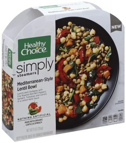 Healthy Choice Mediterranean-Style Lentil Bowl - 9 oz