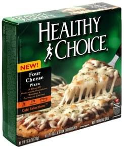 Healthy Choice Pizza Four Cheese