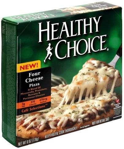 Healthy Choice Four Cheese Pizza - 6 oz