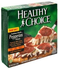 Healthy Choice Pizza Italian Style Pepperoni