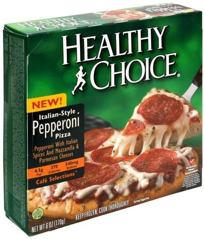 Healthy Choice Italian Style Pepperoni Pizza - 6 oz