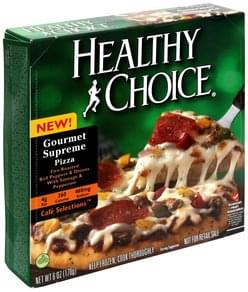 Healthy Choice Pizza Gourmet Supreme Pizza