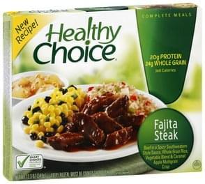 Healthy Choice Fajita Steak