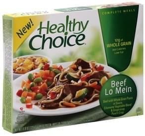 Healthy Choice Beef Lo Mein