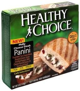 Healthy Choice Panini Philly Cheese Steak