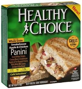 Healthy Choice Panini Smokehouse Apple & Chicken