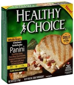 Healthy Choice Panini Chicken Artichoke
