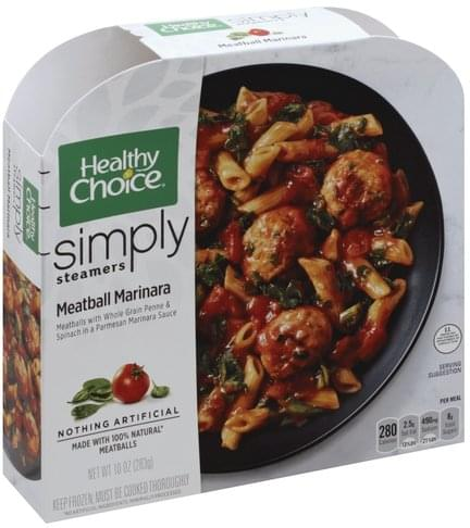 Healthy Choice Meatball Marinara - 10 oz