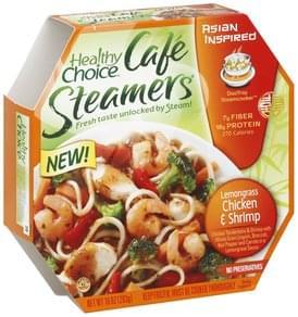 Healthy Choice Lemongrass Chicken & Shrimp