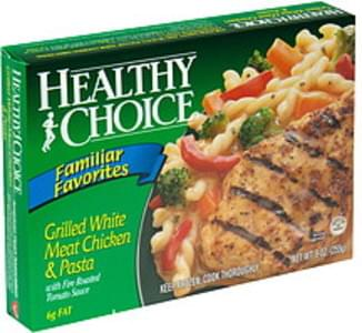 Healthy Choice Grilled White Meat Chicken & Pasta