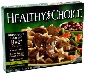Healthy Choice Mushroom Roasted Beef with Gravy