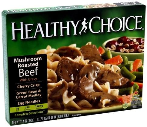 Healthy Choice with Gravy Mushroom Roasted Beef - 11.4 oz