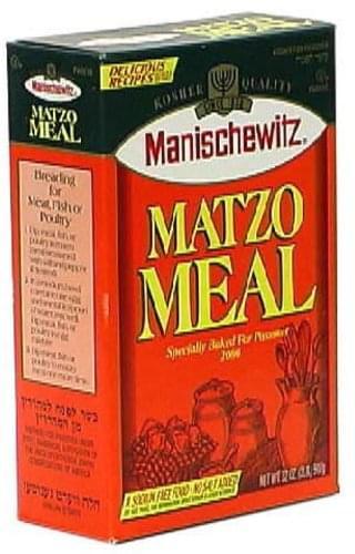 Manischewitz Specially Baked For Passover, 2000 Matzo Meal - 32 oz