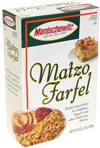 Manischewitz Matzo Farfel - 16 oz
