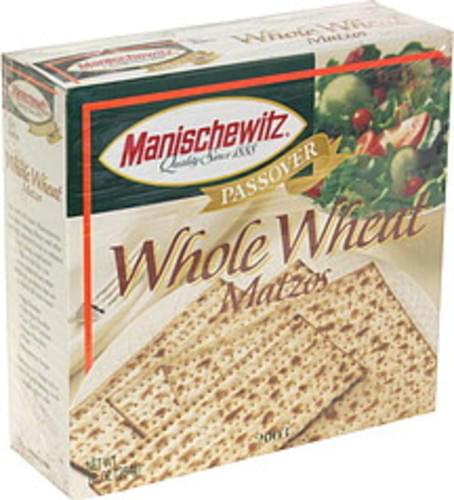 Manischewitz Whole Wheat Matzos - 10 oz