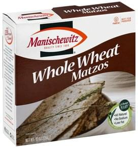 Manischewitz Matzos Whole Wheat