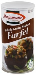 Manischewitz Farfel Whole Grain Matzo