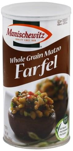 Manischewitz Whole Grain Matzo Farfel - 14 oz