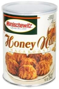 Manischewitz Macaroons Honey Nut
