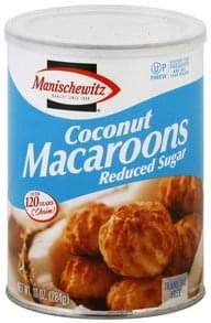 Manischewitz Macaroons Coconut, Reduced Sugar