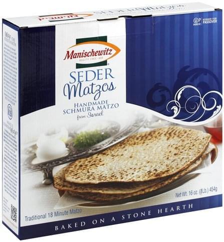 Manischewitz Seder Matzos - 16 oz