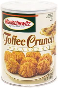 Manischewitz Toffee Crunch Macaroons