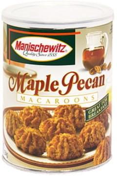 Manischewitz Macaroons Maple Pecan