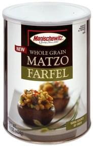 Manischewitz Matzo Farfel Whole Grain
