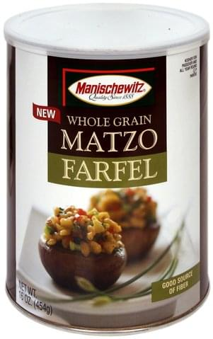 Manischewitz Whole Grain Matzo Farfel - 16 oz