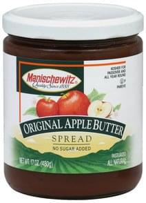 Manischewitz Apple Butter Spread Original