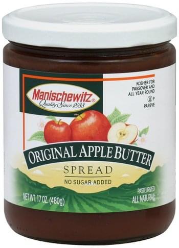 Manischewitz Original Apple Butter Spread - 17 oz