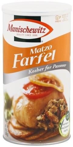 Manischewitz Matzo Farfel - 14 oz